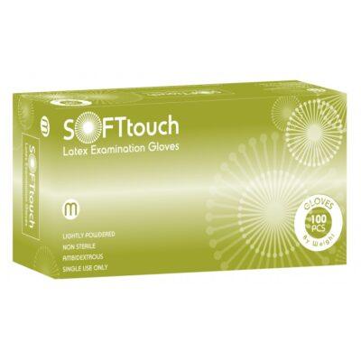 Γάντια Latex Soft Touch Sense με Πούδρα
